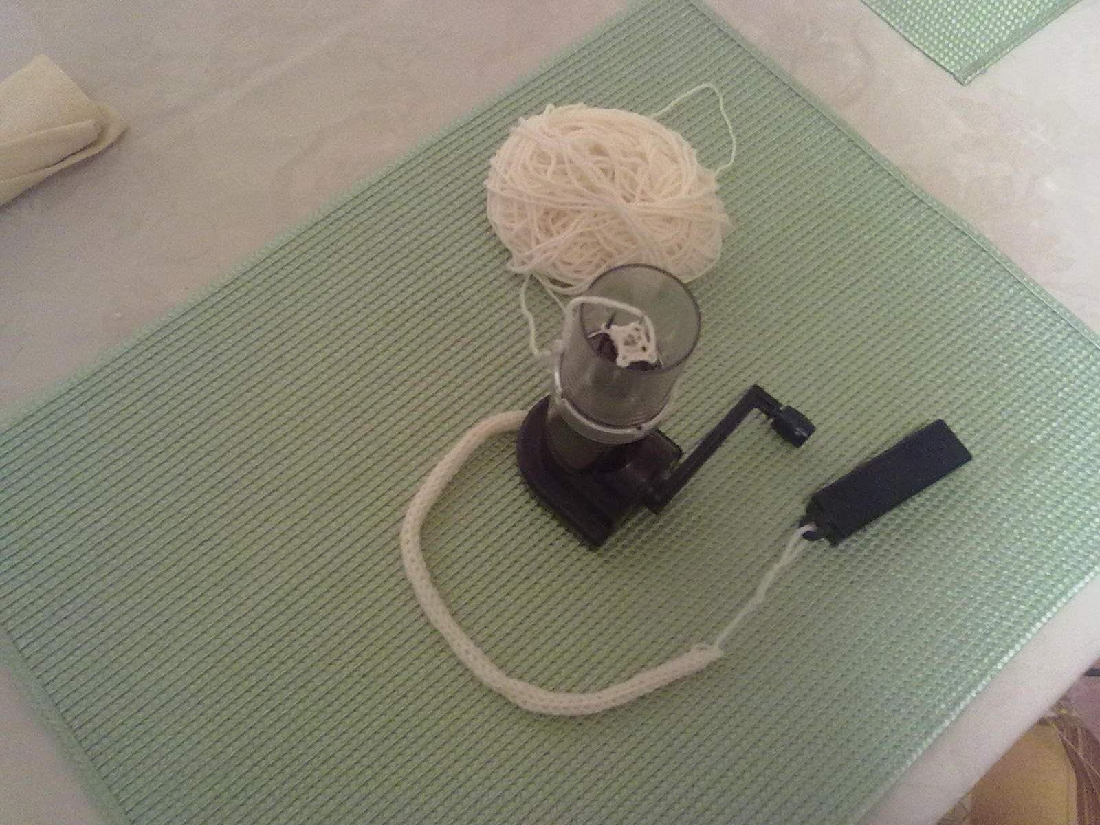 Tricotin a manovella, caterinetta, spool knitter