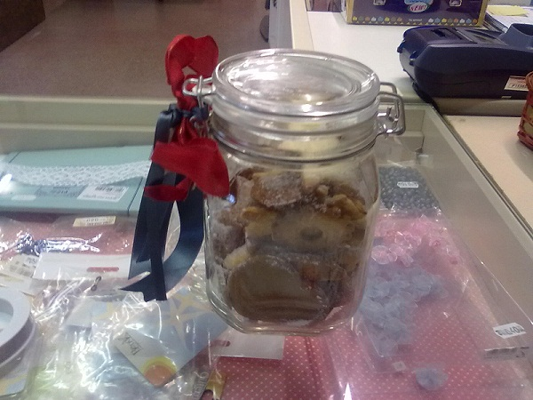 Vaso biscotti Margherita