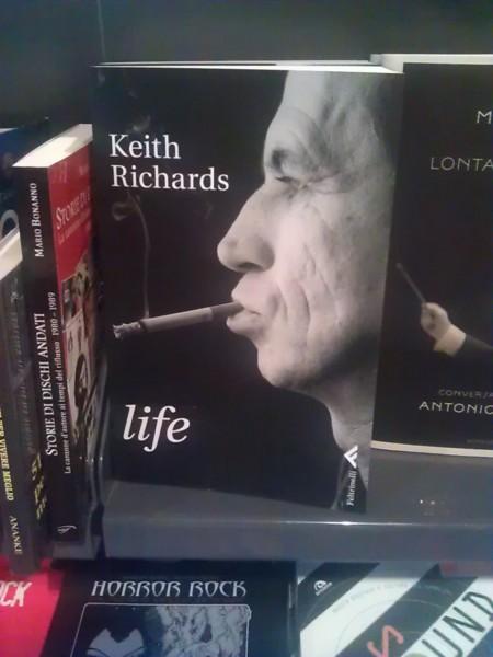 Keith Richards - Life - Copertina libro