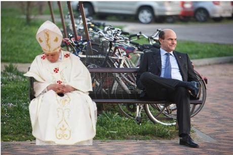 papa benedetto bersani panchina