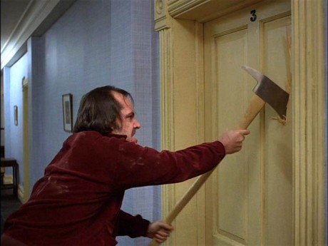 jack torrance the shining axe