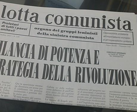 lotta comunista