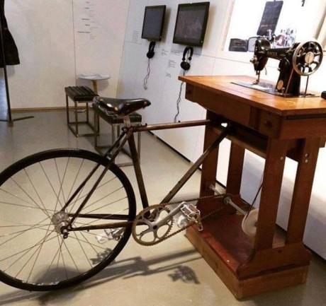 macchina da cucire a pedali